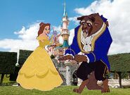 Belle and Beast Goes to Disneyland Paris Pictures 02