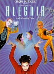 Alegria movie dvd