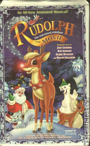 File:Rudolph The Red Nosed Reindeer The Movie VHS Front Cover.jpeg