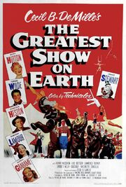 1952 - The Greatest Show on Earth Movie Poster 1