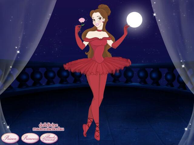 File:Belle Ballerina in her Red Dress.jpg