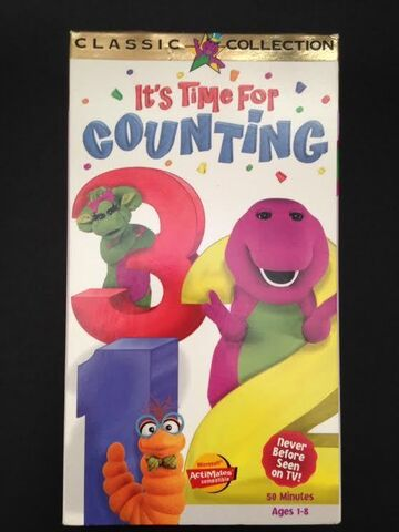 File:Barney Its Time for Counting VHS.jpeg