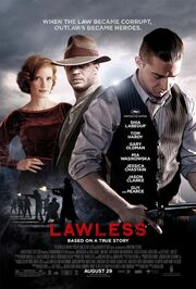2012 - Lawless Movie Poster