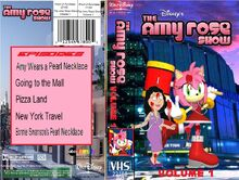 The Amy Rose Show Volume 1 2002 VHS