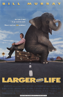 Larger Than Life (1996) Poster