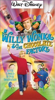 Willy Wonka And The Chocolate Factory 2000 VHS