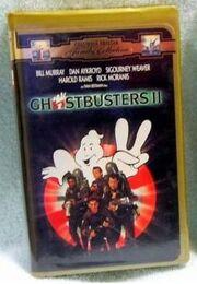 Ghostbusters II VHS