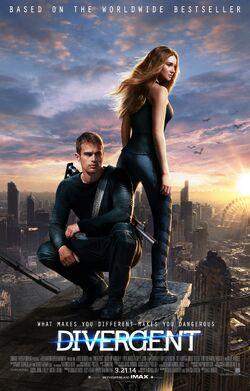 2014 - Divergent Movie Poster -1
