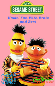Havin' Fun With Ernie and Bert VHS Cover
