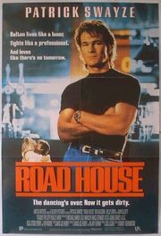 1989 - Road House Movie Poster