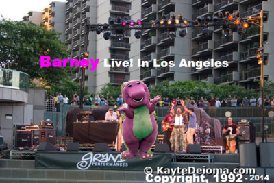 Barney Live! in Los Angeles (1992 - 2014, SuperMalechi's version)