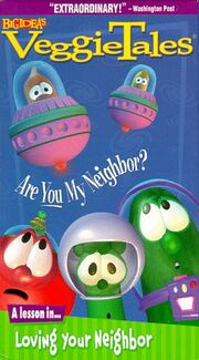 VeggieTales Are You My Neighbor VHS Cover