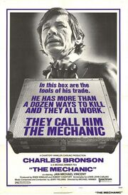 1972 - The Mechanic Movie Poster