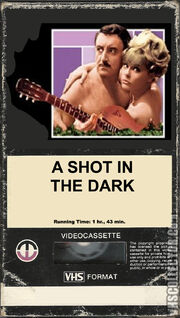 A Shot in the Dark (1981 VHS Cover - Magnetic Video Corporation Version)