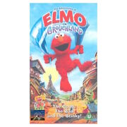 The Adventures of Elmo in Grouchland Paramount UK VHS