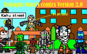 Toatapio Nuva's comics version 2