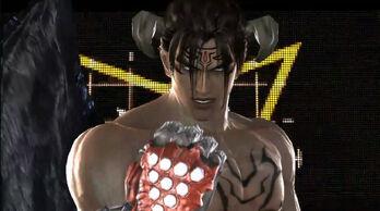 Devil Jin from Tekken