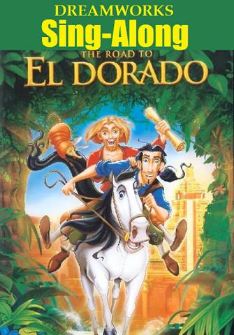 File:DreamWorks Sing-Along The Road To El Dorado VHS.png