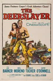 1957 - The Deerslayer Movie Poster