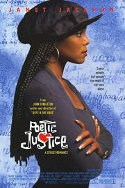 1993 - Poetic Justice Movie Poster