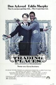 1983 - Trading Places Movie Poster