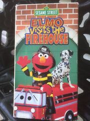 Elmo Visits the Firehouse 2002 VHS