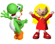 Yoshi and Mary