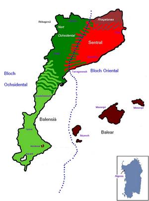 Mapa dialechtal delqvatala