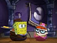 Spongebob and dexter