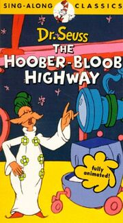 1975 - The Hoober-Bloob Highway VHS Cover (1994 Dr. Seuss Sing-Along Classics)