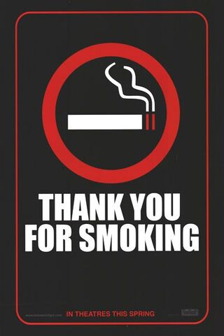 File:2006 - Thank You for Smoking Movie Poster.jpg