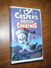 Caspers Haunted Christmas VHS