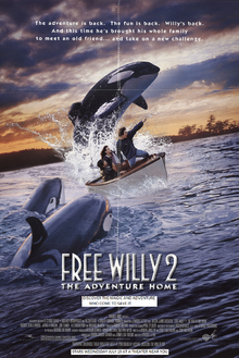 Free Willy 2 (1995) Poster