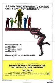 1973 - Kid Blue Movie Poster