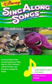 Disney Sing Along Songs - Everybody's Got Feelings 2006 VHS Cover