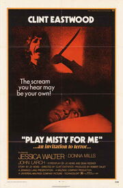 1971 - Play Misty for Me Movie Poster
