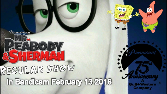 File:Mr Peabody And Sherman And Regular Show Poster.png