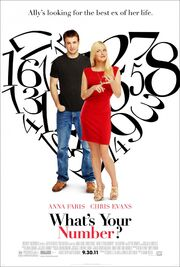 2011 - What's Your Number Movie Poster