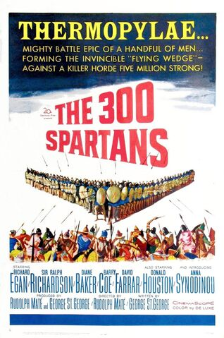 File:1962 - The 300 Spartans Movie Poster.jpg
