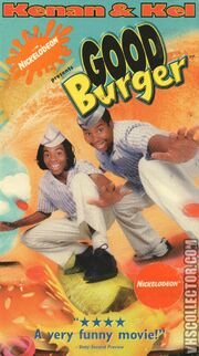Good Burger VHS Front Cover