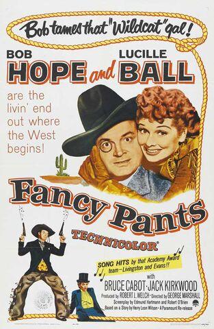 File:1950 - Fancy Pants Movie Poster.jpg
