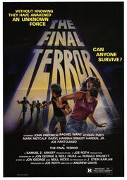 1983 - The Final Terror Movie Poster