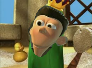 King sheen love his duck