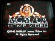MGM UA Home Video Rainbow Copyright Scroll (1999)