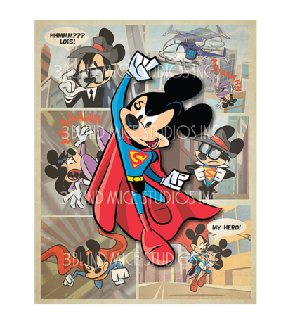 Disney's Supermouse An Action Comic