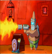 Flamethrower pat