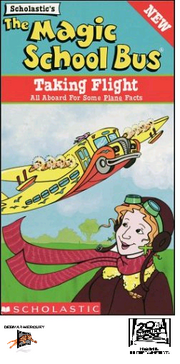 The Magic School Bus Taking Flight VHS