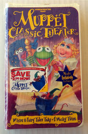 Muppet Classic Theater 1994 VHS