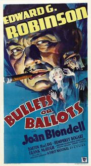 1936 - Bullets or Ballots Movie Poster
