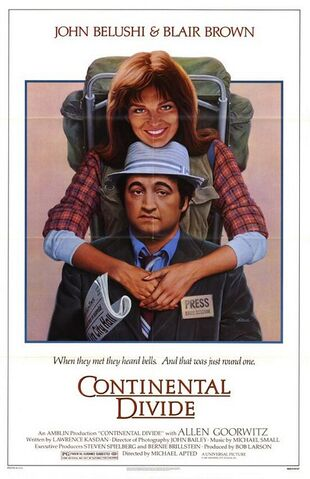 File:1981 - Continental Divide Movie Poster.jpg